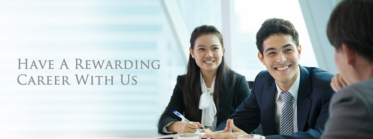 Have A Rewarding Career With Us